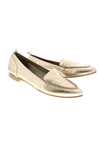 wonders chaussures femme de couleur jaune