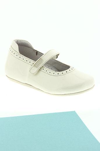 garvalin chaussures fille de couleur beige
