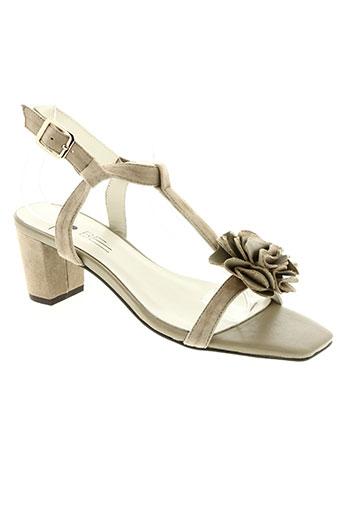 to be chaussures femme de couleur beige