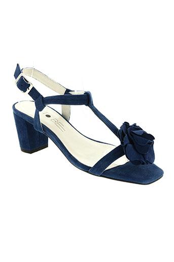 to be chaussures femme de couleur bleu