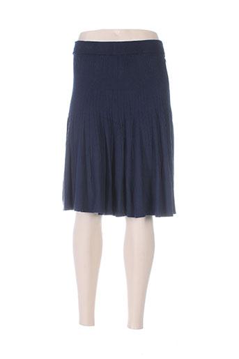 belle jupes femme de couleur bleu