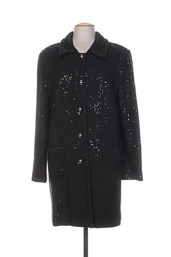 nathalie chaize manteaux femme de couleur noir
