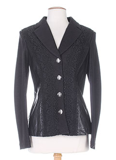 Veste chic / Blazer noir SAVE THE QUEEN pour femme