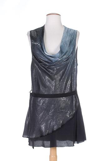 tricot chic tuniques femme de couleur gris