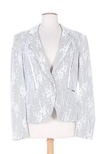 cappopera couture vestes femme de couleur blanc