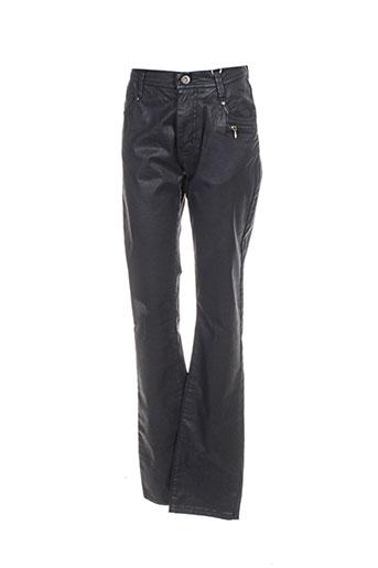 impaqt pantalons femme de couleur noir
