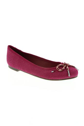 tommy hilfiger chaussures femme de couleur rose