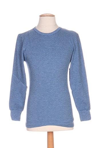 achel t-shirts homme de couleur bleu