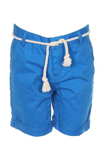 eleven paris shorts / bermudas garçon de couleur bleu