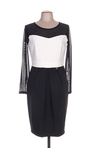 daniela cool robes femme de couleur noir