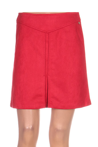 jus d'orange jupes femme de couleur rouge