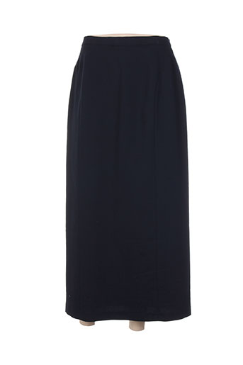 brandtex jupes femme de couleur bleu