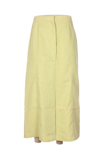 gerard pasquier jupes femme de couleur vert
