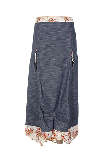 enjoy jupes femme de couleur bleu