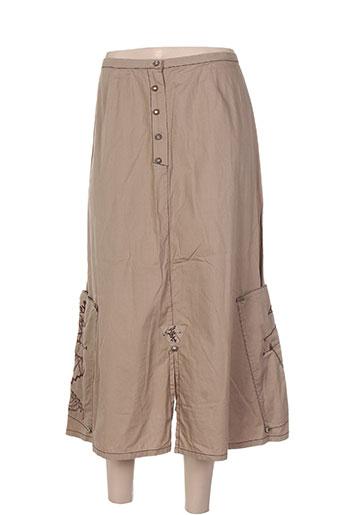 enjoy jupes femme de couleur beige