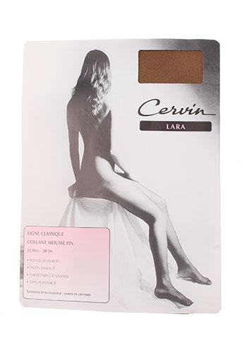 cervin lingerie femme de couleur marron