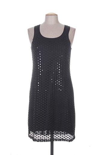janira robes femme de couleur noir