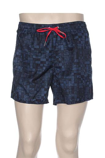 impetus maillots de bain homme de couleur bleu