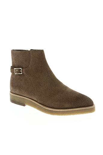 bruno premi chaussures femme de couleur beige