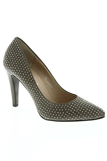 bruno premi chaussures femme de couleur gris