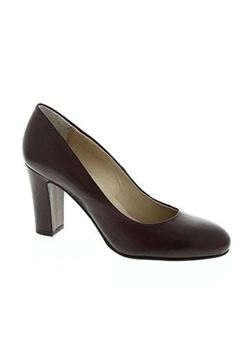 bruno premi chaussures femme de couleur rouge