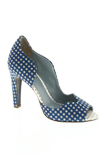 apologie chaussures femme de couleur bleu