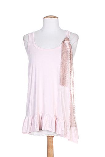marcel et cendrillon tuniques femme de couleur rose