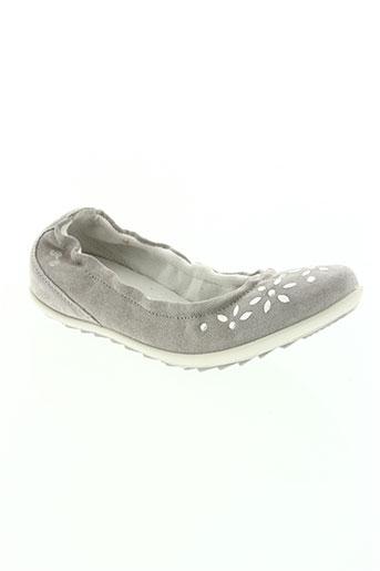 primigi chaussures fille de couleur gris