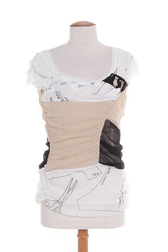 daniela dallavalle chemises femme de couleur blanc