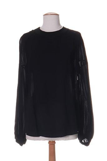 hich use chemises femme de couleur noir