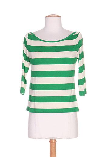 isabel de pedro t-shirts femme de couleur vert