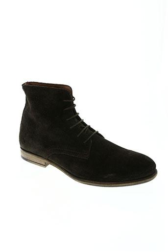 marlboro classics chaussures homme de couleur marron