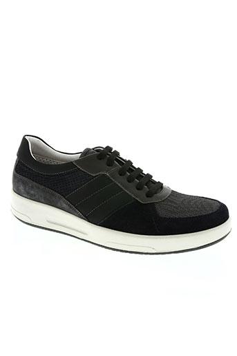 karl lagerfeld chaussures homme de couleur bleu