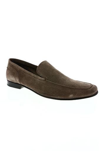 karl lagerfeld chaussures homme de couleur marron