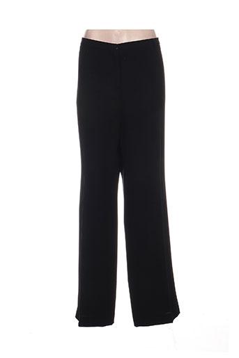 weill pantalons femme de couleur noir