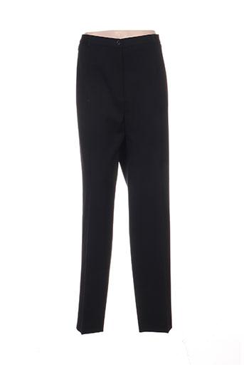bruno saint hilaire pantalons femme de couleur noir