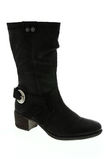 stressless chaussures femme de couleur noir