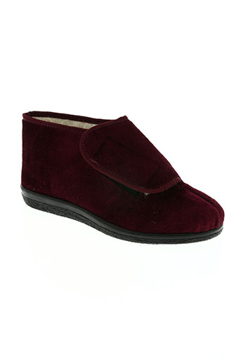 rondinaud chaussures femme de couleur rouge