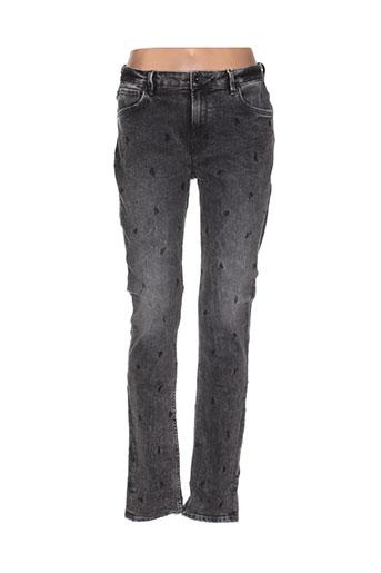 garcia jeans femme de couleur gris
