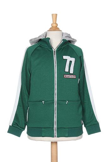 Veste casual vert GARCIA pour garçon