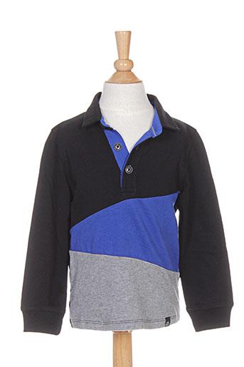 jean bourget t-shirts garçon de couleur noir