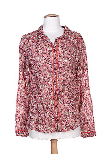 agathe EFFI_CHAR_1 louise chemises femme de couleur rose
