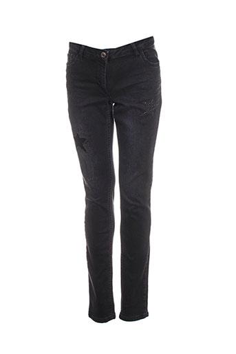 Jeans coupe slim noir BETTY BARCLAY pour femme