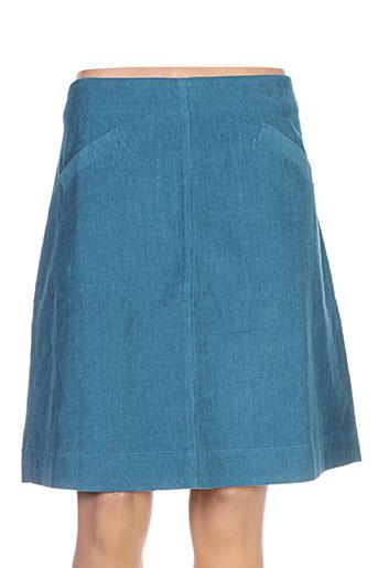 mistral jupes femme de couleur bleu