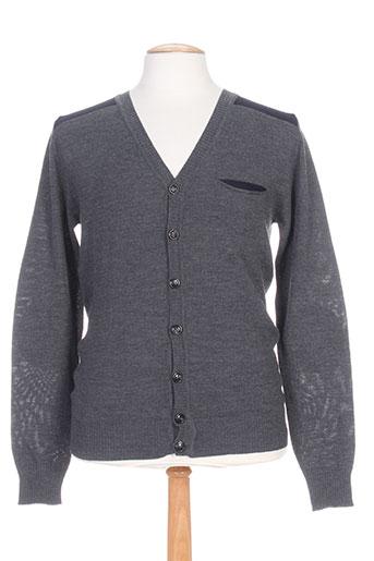 memento clothing gilets homme de couleur gris