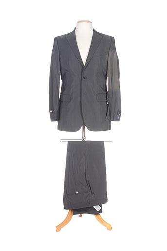 Costume de cérémonie gris DANIEL HECHTER pour homme