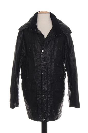 chevy manteaux homme de couleur noir