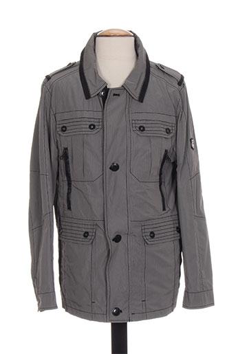cabano manteaux homme de couleur gris