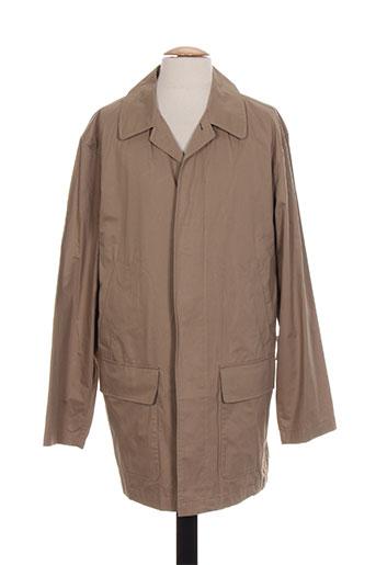 bush manteaux homme de couleur beige