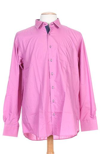 impact chemises homme de couleur rose